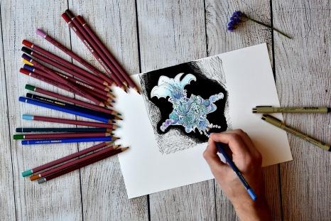 kurs rysunku JUNIOR dla młodzieży 13-17 lat