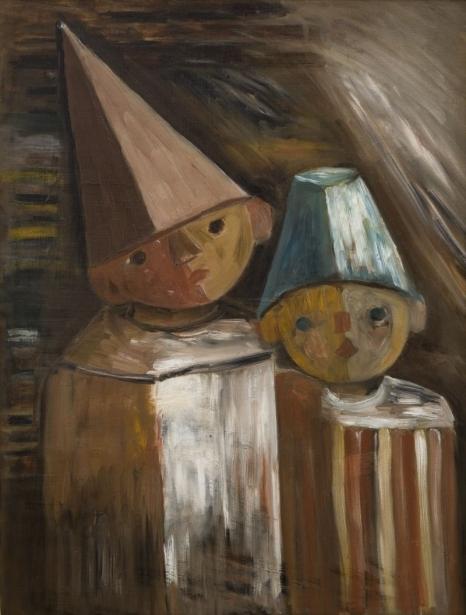 Tadeusz Makowski, Dzieci, ok. 1929, olej na płótnie; 65 × 49 Muzeum Narodowe w Krakowie, fot. Paweł Czernicki