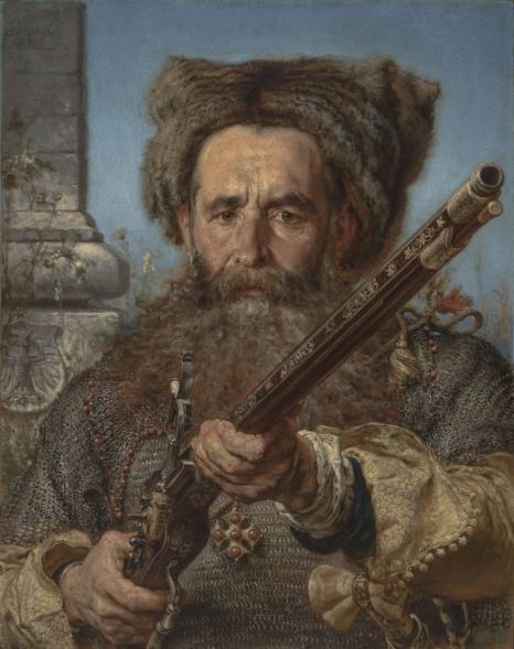 Jan Matejko, Ostafi Daszkiewicz, 1874, wł. Muzeum Śląskie w Katowicach