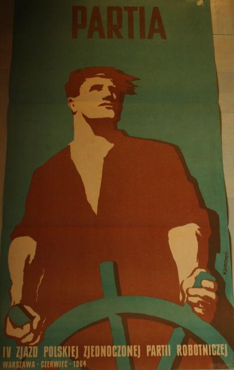 Plakaty ze zbiorów Muzeum Regionalnego w Stalowej Woli o tematyce propagandowej w Bibliotece Wydziału Zamiejscowego KUL w Stalowej Woli
