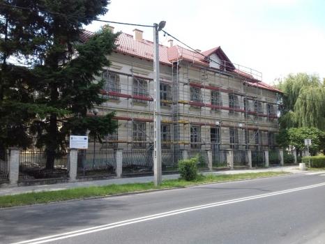 II etap remontu budynku dawnego Sądu