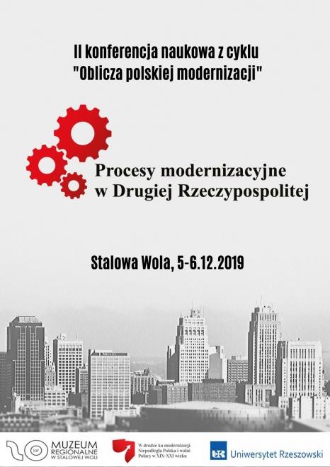 Procesy modernizacyjne w Drugiej Rzeczypospolitej – konferencja