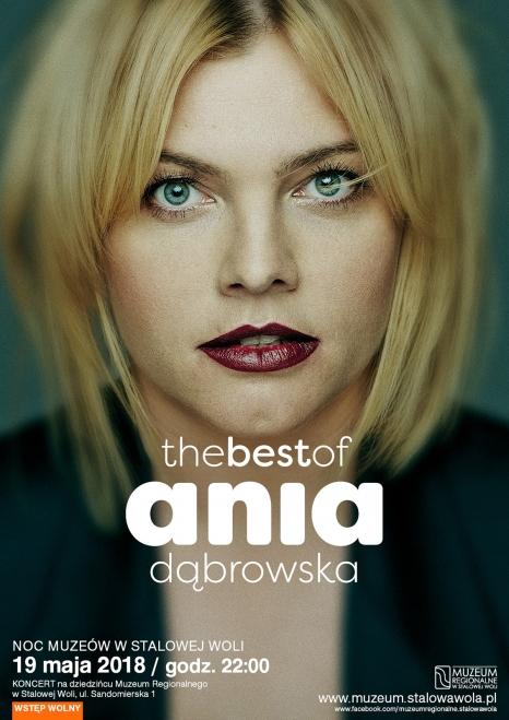 Ania Dąbrowska  - koncert w Noc Muzeów 2018!