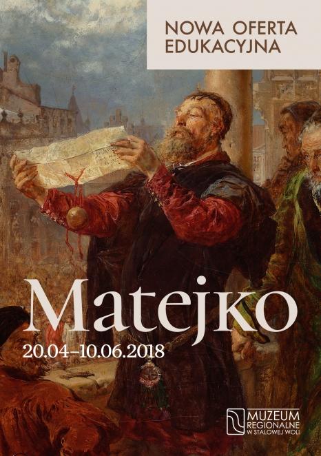 oferta edukacyjna do wystawy Matejko