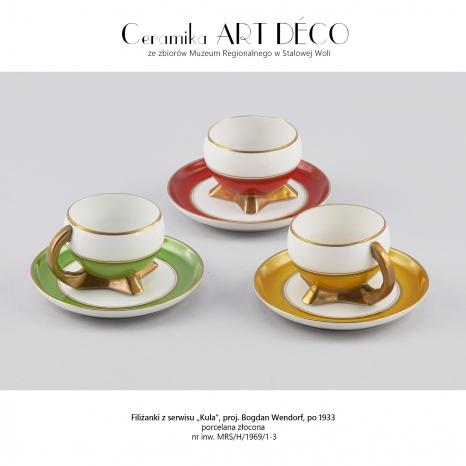 Ceramika art déco ze zbiorów Muzeum Regionalnego