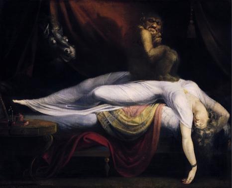 Nocna mara, Johann Heinrich Füssli